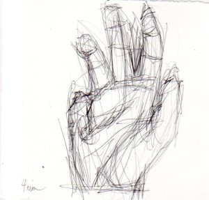 Drawing body gestures Bilateral Drawing: