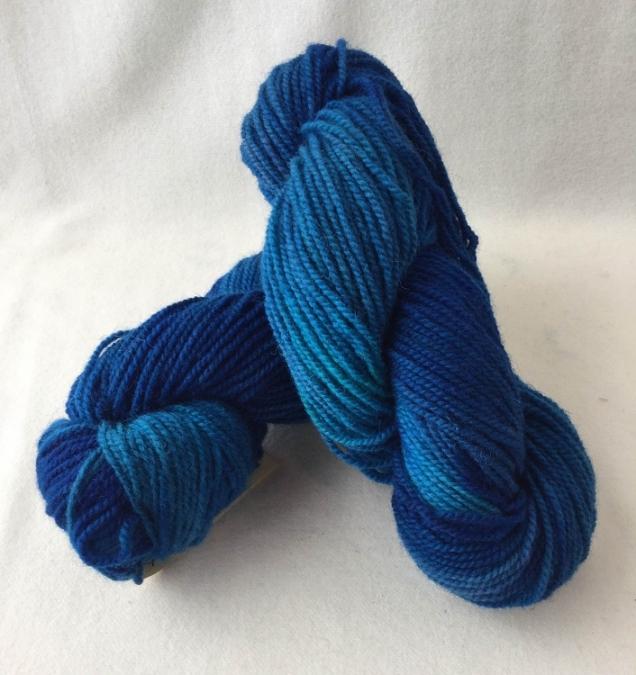 bluejay yarn skein