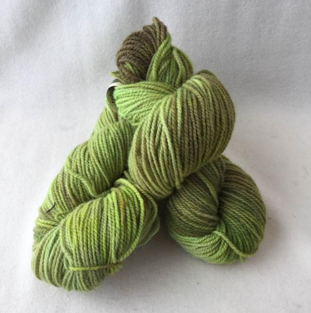 Fundy Fields yarn skein