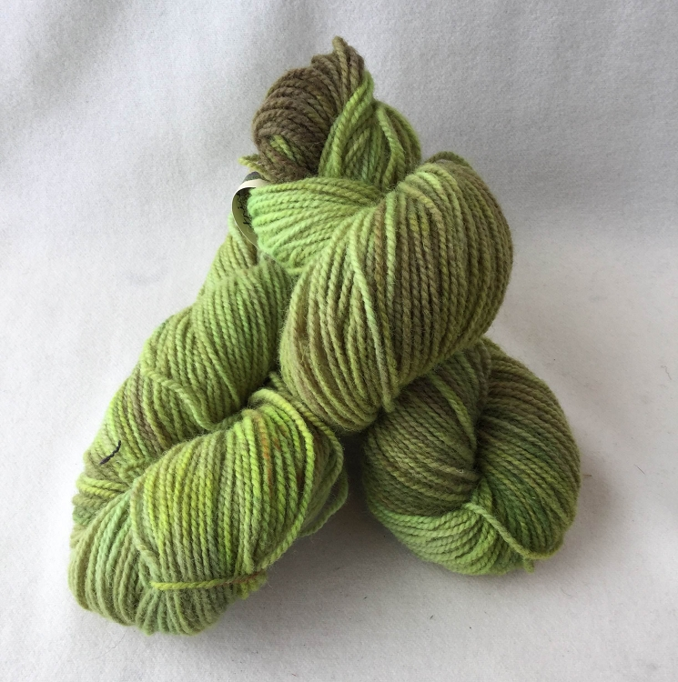 Fundy Fields yarn skein